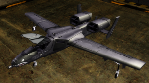 [MMD] Fairchild A10 Thunderbolt - Download by Riveda1972