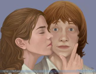 Good luck Ron_Kiss by mary-dreams