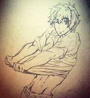 Nagisa Sketch by richardsmae