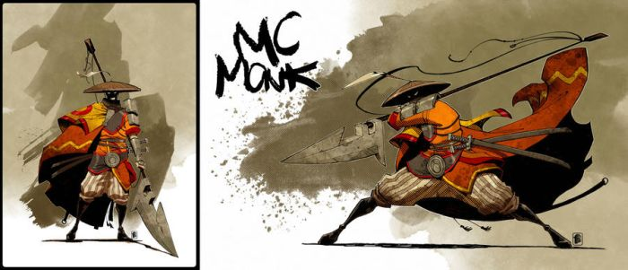 MC Monk by nelsondaniel