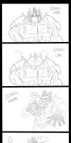 The many sides of Optimus Prime by TheSpeed0fLlight