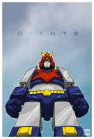 Giant - Voltes V by DanielMead