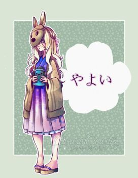 Animal Crossing - Gijinka: Coco/Koko by Cowslip