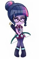 Human Twilight Sparkle by DarkBerryArt
