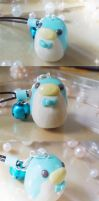 Blue Penguin Charm by fuwa-san