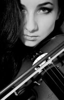 The Violinist II by TheLPhotography