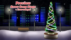 MRA: Snow Song Stage by ValKrayon