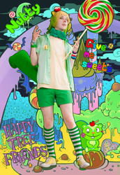 Nutty - Happy Tree Friends cosplay by Tushkanchik666