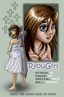 Faith Fighter Pixel ID by RyouGirl