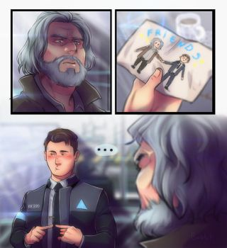 Image result for detroit become human fanart
