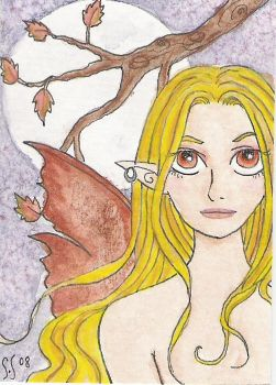 aceo fairy by witchyart