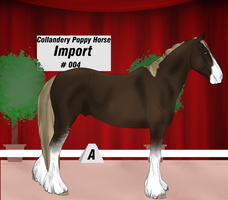 Collandery Poppy Horse Import #4 by NorthernMyth