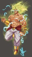 Broly by Scott See by scottssketches