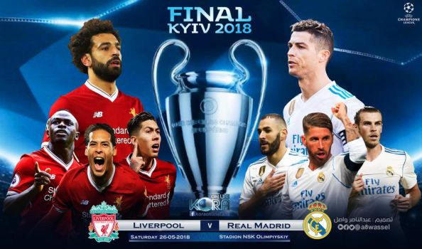 Real Madrid - Liverpool - Champions League final by A8WASSEL