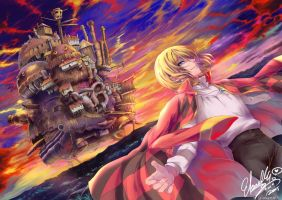 Howl's Moving Castle by Eternal-S