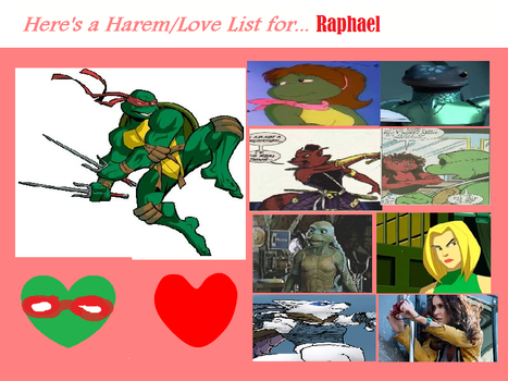 Raphaels harem love list chart by 4xeyes1987-d7iln by theaven