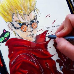 Vash The Stampede (detail) by frankekka