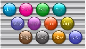 Month Icons by BenjitheGreat