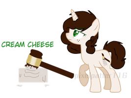 Mlp: cream cheese by Pixelpatter116