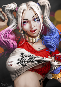 Harley Quinn by SourAcid
