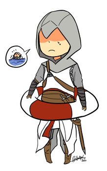 Assassin's Creed - Altair by Rika-Wawa