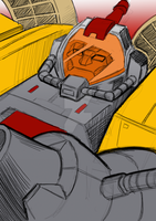 Commission: Transformers G1 Omega Supreme by Natephoenix