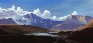 Study 004 - Vanoise National Park by Helroir