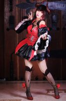 Eliza Tekken Revolution by kuricurry