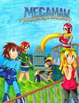 Megaman: S-H-D Manga Cover by Sonicbandicoot