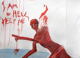 Frank is in hell by Necro-Agalma