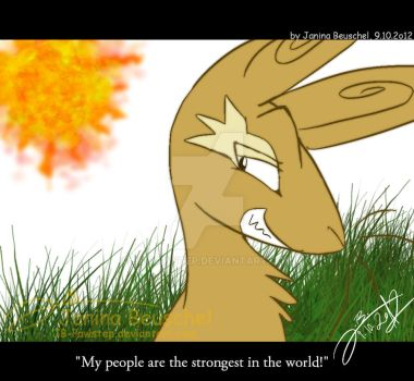 Watership Down -The strongest in the World! by JB-Pawstep