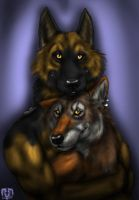 Tanana and Sam Request by VorpalBeasta