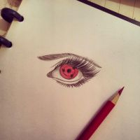Sharingan eye by Abz-Art