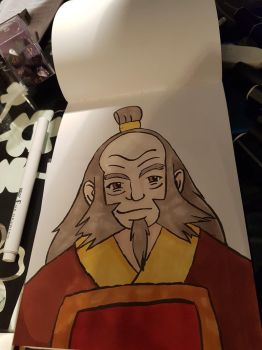 Uncle Iroh by Meowiva
