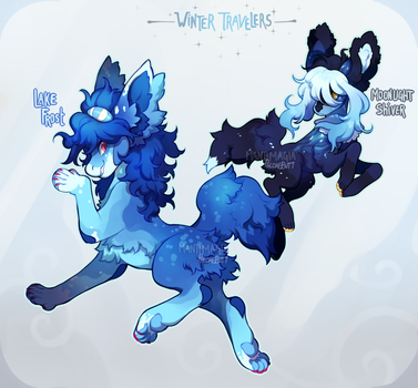 [Auction] :: Winter Travelers (closed) by PhloxeButt