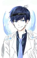 Anime Boy {Blue} by Rexeren