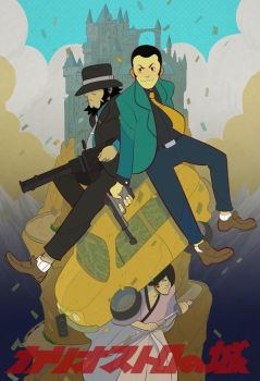 Lupin 3rd: Castle of Cagliostro by cheshirecatart