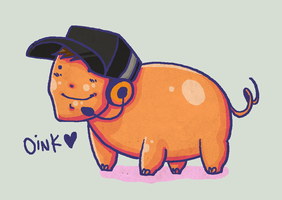 TF2 - Oink by SuperKusoKao