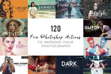 1000 Free Photoshop Actions to Improve Your Photos by symufa