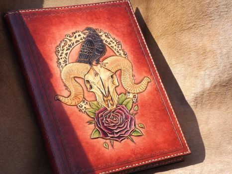 leather tooled book by CreationsMJF