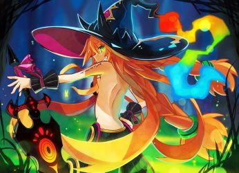 The Witch and the Hundred Knight by ti-zu