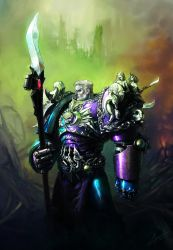The XIth Primarch by saint-max
