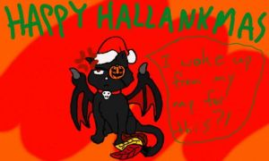 Happy Hallankmas! by AuthorNumber2