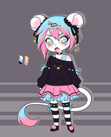 Gothic Japagum Adopt [CLOSED] by Tataouin