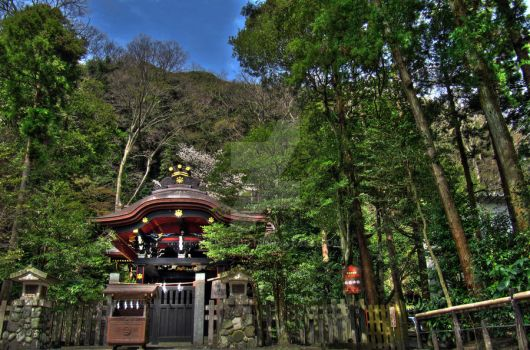Kamakura Temple HDR by 2378-TCDD