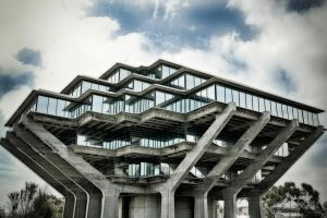 UCSD Library by DizzyCowPhotography