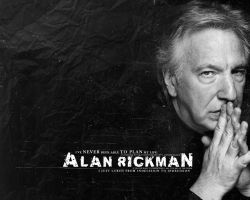 Alan Rickman in black by Imai-san