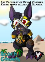 Beach Ghouls - Anubis the Jackal by PlayboyVampire