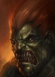 Blanka Fan Art by SirenD