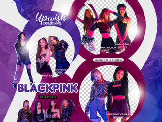 BLACKPINK PNG PACK #16 by Upwishcolorssx
